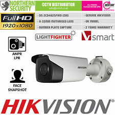 Hikvision ANPR LPR SMART Network IP Camera 8-32mm 1080 P @ 60/fps POE motorizzato
