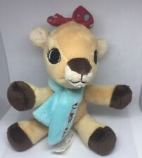 Small Clarice Brown Female Reindeer Plush, From Rudolph Red Nose Reindeer.