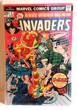 #4 INVADERS 1970s Marvel Comic Book- Fine/ Very Fine  (INV-04)