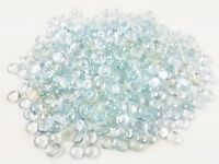 Clear Iridescent Small Glass Gems Mosaic Tiles 400 ct - 3/4 inch