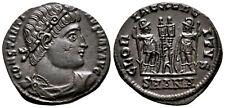 CONSTANTINE THE GREAT (330-335 AD) Ae3 Follis. Antioch #CA 7675