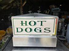 Hot Dog Machine Commercial Sausage Warmer Electric Steamer Hotdog Cooker