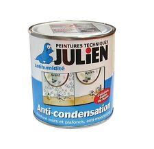 PEINTURE ANTI CONDENSATION BACTERICIDE FONGICIDE 2.5 L JULIEN MOISISSURES ODEURS