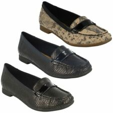 Loafers Synthetic Upper Material Standard Width (D) Flats for Women