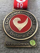 Challenge Kraichgau 2012 Triathlon Finisher Medaillie