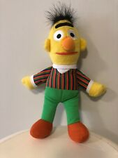 Bert Sesame Street Plush Stuffed Toy Doll Fisher Price Mattel 2005 Muppets 24cm