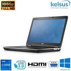 "Dell E6540 15.6"" Laptop I7-4800mq 16gb Ram 256gb Ssd Windows 10 Pro Usb 3.0 Hdmi"