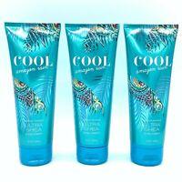 Bath and Body Works Cool Amazon Rain Ultra Shea Body Cream 8 oz, Lot of Three