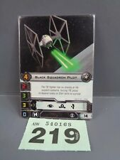 Wargaming X Wing Alt Art Promo 2013 Black Squadron Pilot Card 219