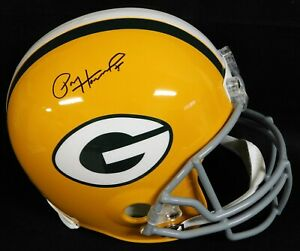 Paul Hornung Green Bay Packers Signed Full Size Replica Helmet JSA Authenticated