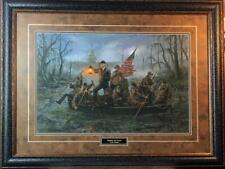 Jon McNaughton Crossing the Swamp Donald Trump Art Print-Signed Framed 35 x 26
