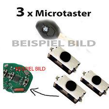 3x Taster für BMW Fernbedienung Funkschlüssel E39 E46 E53 X3 X5 Z4 Mikroschalter