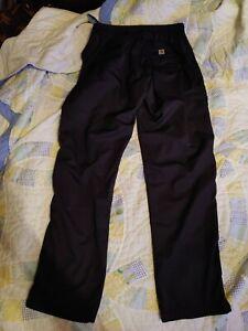 Youth Burton Chittagong Dry Ride Insulated Snow Pants black Sz sm 7/8