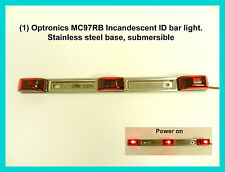 (1) Sealed, 3-Light Truck and Trailer Identification Light Bar, Submersible