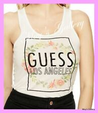 GUESS Graphic Logo   Tank T-shirt Tee T shirt Top Blouse NWT XS,S,M,L,XL