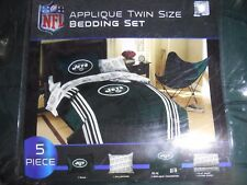 NFL NEW YORK JETS 5 Piece Twin Comforter Set