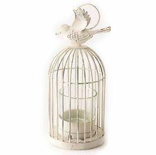 Heaven Sends Hanging Birdcage Candle Tea Light Holder Shabby Chic Free Tealight