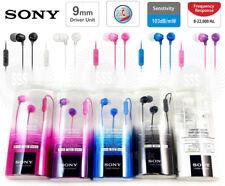 Genuine Sony MDR-EX15AP Fashion Color EX Series Headphone Earbud  Microphone