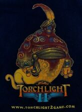Torchlight 2 II Promotional T-Shirt XL Extra Large Runic Games PC Torch Light