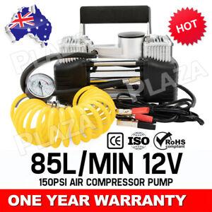 Portable 12V Car Air Compressor Tire Pump Tyre Inflator Auto 150 PSI HEAVY DUTY