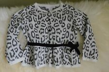 Janie And Jack Baby Girls Parisian Park Leopard Outfit Set Sweater 2T