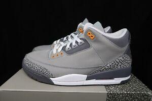 Size 10 Men Nike Air Jordan 3 Retro Cool Grey 2021 CT8532-012 New