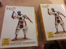 UN-PAINTED HaT PLASTIC COLONIAL MARDI DERVISH ARMY INFANTRY 20mm 1/72nd NEWboxed