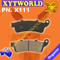 FRONT Brake Pads for HONDA FES 250 W/X Foresight 1998 1999