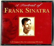 DOUBLE 2 CD ★ A PORTRAIT OF FRANK SINATRA ★ ALBUM 44 TITRES ANNEE 1997