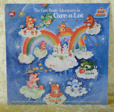 Care Bears Adventures In CARE-A-LOT Record Vinyl Album 33 1/3 NEVER OPENED 1983