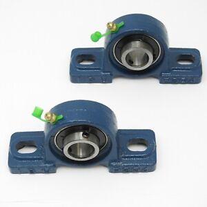 2 Stück UCP 204 für 20 mm Welle Stehlager, Lagerbock, Gehäuselager