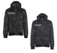 Rawcraft New Men's Padded Warm Hooded Jacket Coat Size: Small S Camouflage Camo