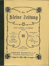 DIE KLEINE ZEITUNG - PETIT JOURNAL ALLEMAND ILLUSTRE - 1902
