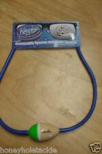 BRAND NEW NECKZ FLOATING BALSA WOOD FLOATZ SUNGLASS STRAP BLUE WITH GREEN