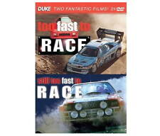 TOO FAST TO RACE & STILL TOO FAST TO RACE - 2 Disc DVD - WRC Rally Film by Duke