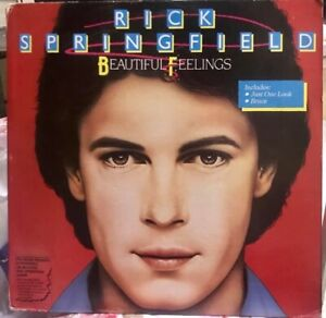 PHILIPPINES RICK SPRINGFIELD - BEAUTIFUL FEELINGS LP