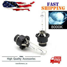 2x D2S D2R D2C HID Xenon Bulbs Factory Replacement Headlight Kit 8000K Ice Blue