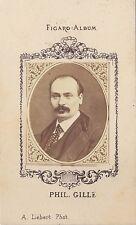 Phil. Gille Figaro-Album carte de visite albumine ca 1875