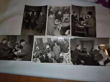 CHIETI -CONSEGNA PACCHI BEFANA 1958 AMM.NE PROVINCIALE  -  LOTTO DI 6 FOTO