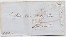 * 1848 EDINBURGH EDUCATIONAL INSTITUTE LETTER TO REV ALEX BATH POWER IN NORWICH