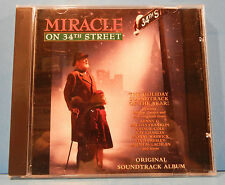 MIRACLE ON 34TH STREET SOUNDTRACK CD 1995 VARIOUS ARETHA ELVIS RAY CHARLES