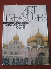 """"""" ART TREASURES FROM THE MUSEUMS OF THE MOSCOW KREMLIN """" MOSCA 1980"""