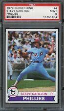 1979 Topps Burger King Phillies #4 Steve Carlton PSA 9