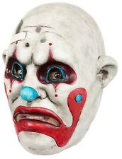 Clown Gang Tex Adult Latex Mask Sad Creepy Killer Halloween Costume Accessory