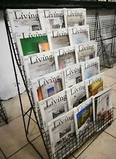 ESPOSITORE A TERRA PER RIVISTE. edicole - librerie - cartolerie
