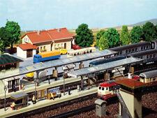 Faller 222119 3 Bahnsteige 2x überdacht + 1x offen N Bausatz Neu