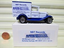 Matchbox 2005 NBT Records Berkeley Springs WV MB38 Model A Ford Van New In Box