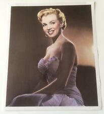Marilyn Monroe Hand Tinted Art Print by Pomegranate 1990 Early Publicity Photo