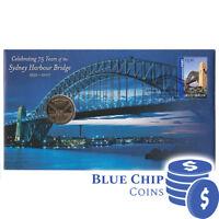 2007 UNC $1 75 Years of the Sydney Harbour Bridge PNC