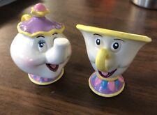 Walt Disney Co Mrs. Potts & Chip Schmidt Figurine Beauty And The Beast Porcelain